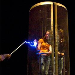 Abschirmung durch Faradayschen Käfig
