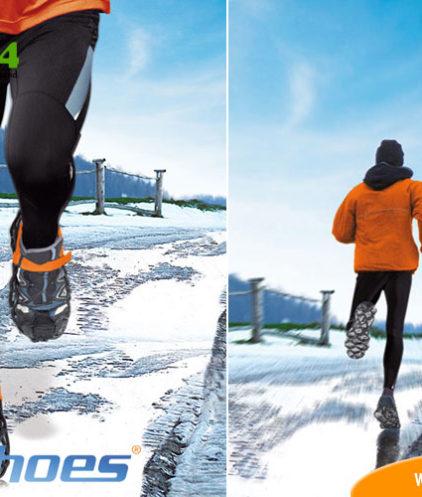 EzyShoes x-treme Sport auf Schnee und Eis