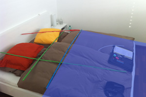 Störfelder durch Wasserader im Bett