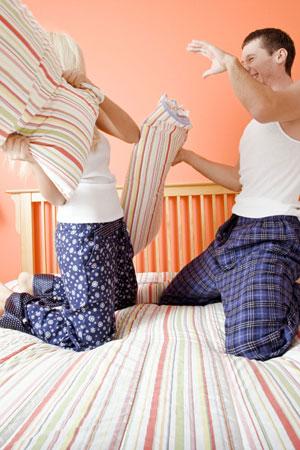 Spass und Erholung - auch im Bett!
