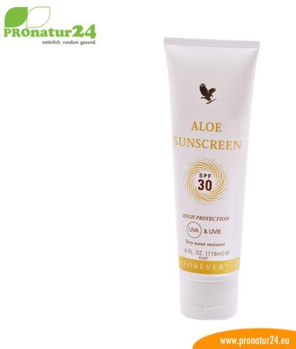 Aloe Vera Sunscreen Sonnencreme