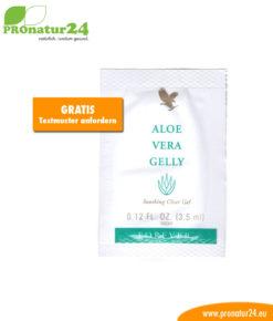 Aloe Vera Gelly Testmuster