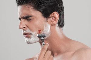 Beim rasieren geschnitten, Aloe hilft!