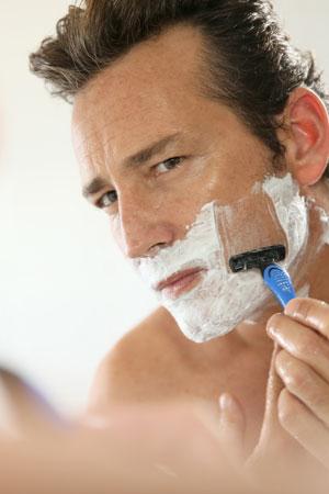 Gesunde Hautpflege nach der Rasur
