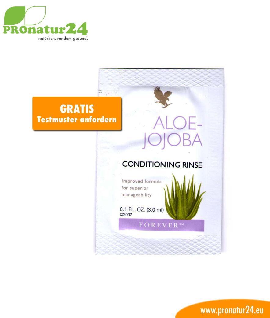 Aloe Vera Jojoba Conditioning Rinse Haar Balsam Testmuster