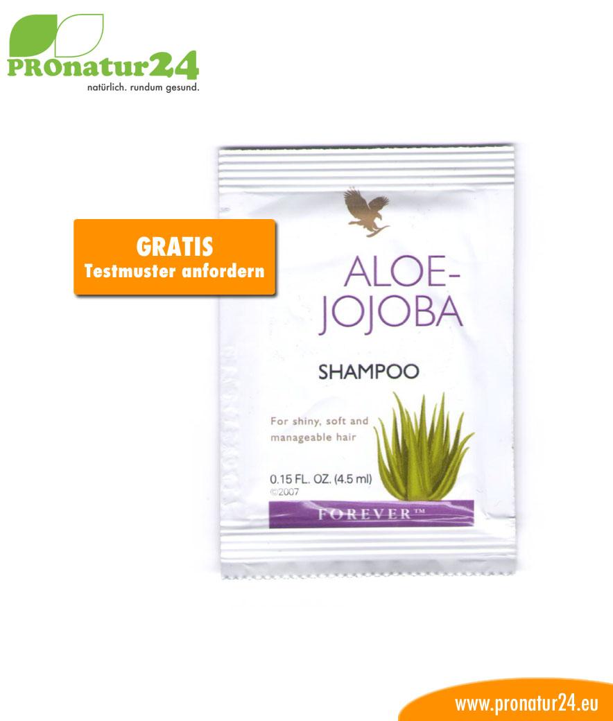 Aloe Vera Jojoba Shampoo Haarpflege Testmuster