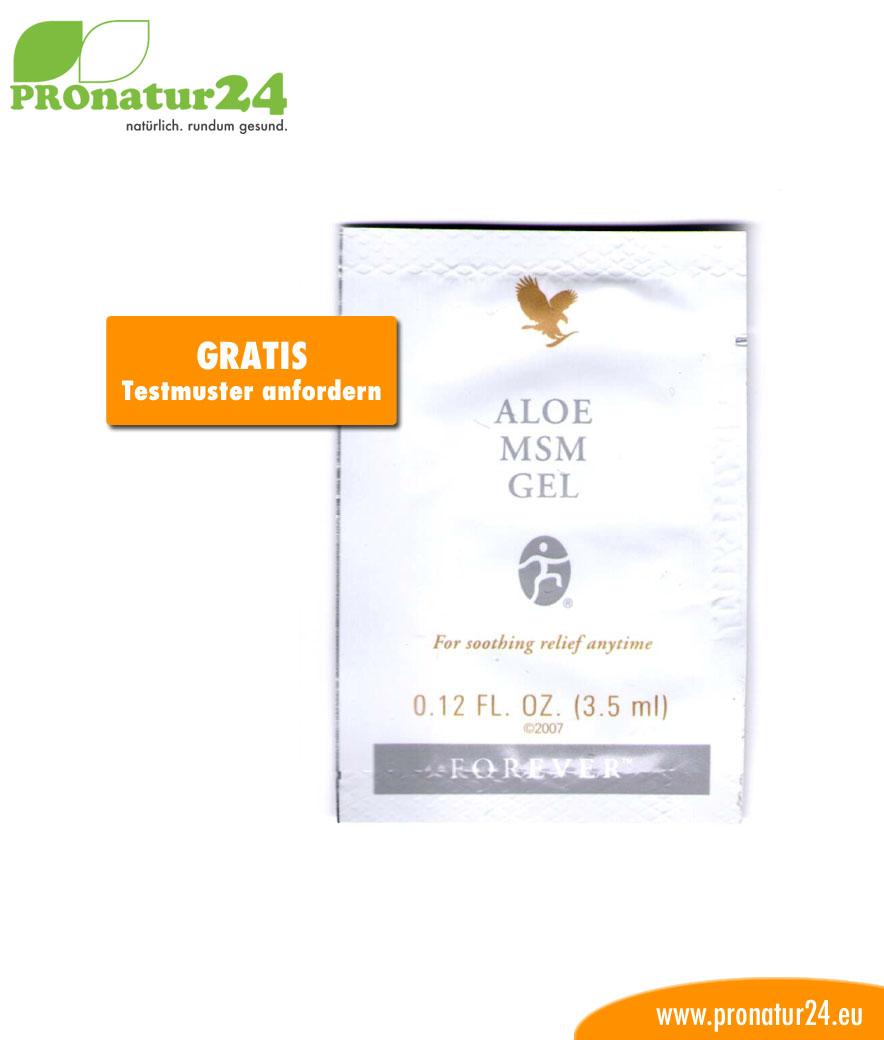 Aloe Vera MSM Gel Testmuster