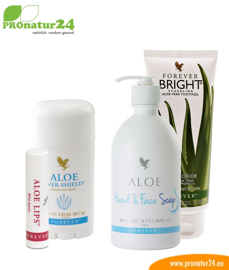 Aloe Vera Hygiene Set für Dich von forever