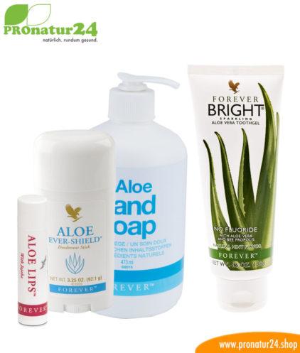 Aloe Vera Hygiene Starter Set für Dich