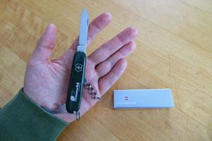 Das Taschenmesser von PROnatur24