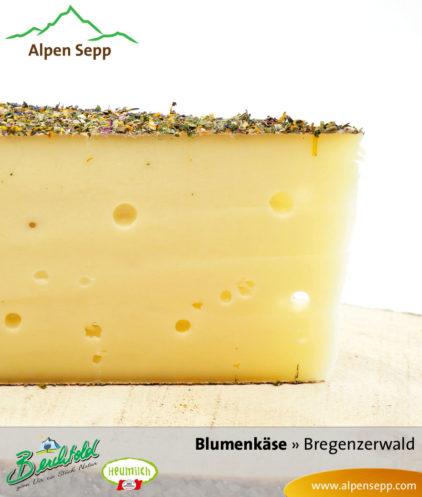 Blumenkäse aus Heumilch vom Alpen Sepp