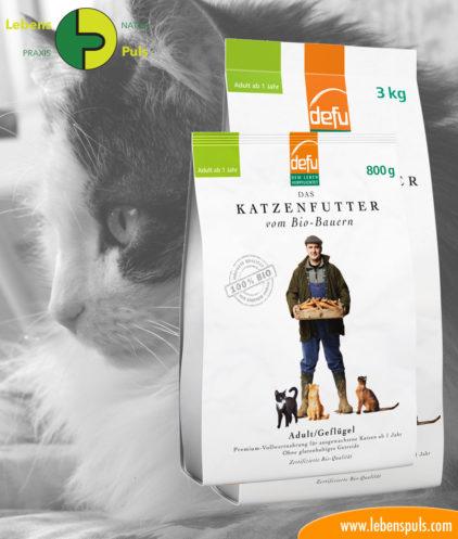 demeter Katzen Trockenfutter Geflügel