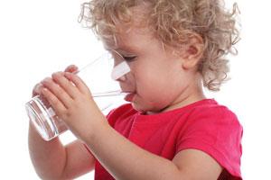 Wasser ist notwendig für die Gesundheit
