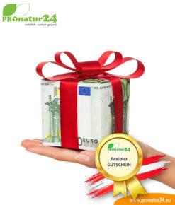 Flexible Gutscheine von PROnatur24