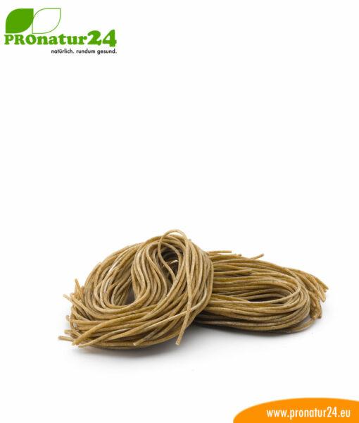 Spaghetti Basilikum von Feist Dinnkelnudeln