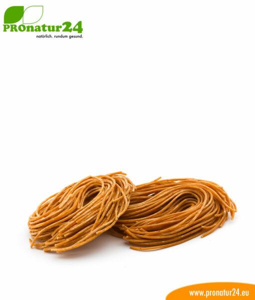 Spaghetti Chili Rotwein von Feist Dinnkelnudeln
