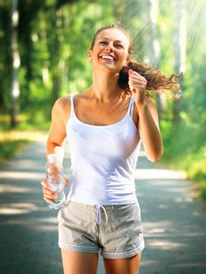 Bewegung, Vitamine und Mineralien