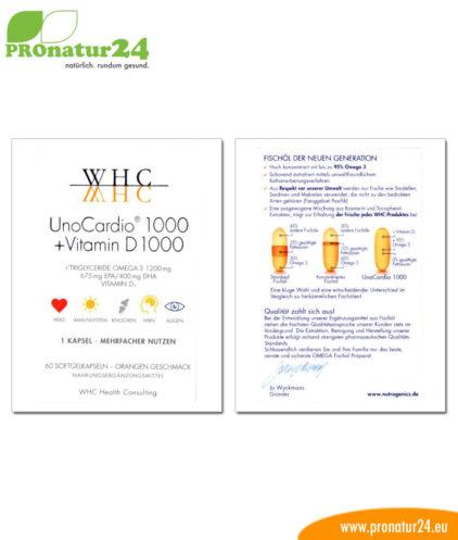 UnoCardio 1000 + Vitamin D1000