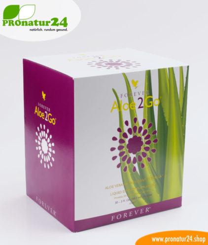 Energieschub mit Aloe2Go für zwischendurch von Forever