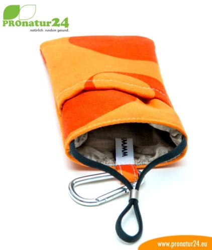 Handytasche eWall, Modell Youngline, orange