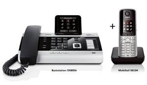 DX800A ist auch als SET erhältlich