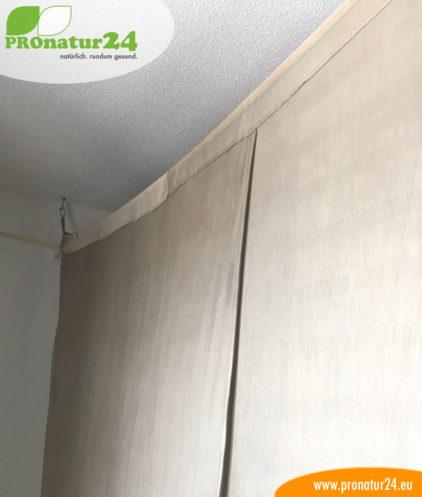 Baldachin mit Schutz vor Elektrosmog durch Funk (HF) und elektrischen Feldern (NF)Baldachin mit Schutz vor Elektrosmog durch Funk (HF) und elektrischen Feldern (NF)