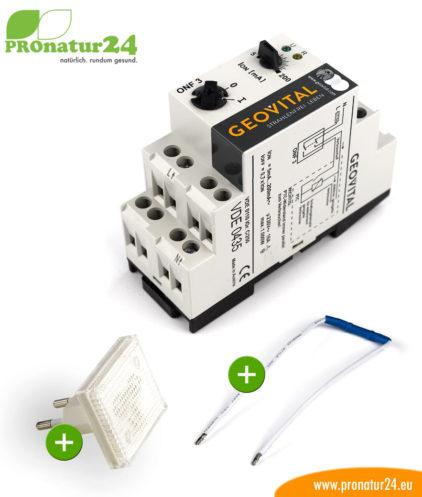 GEOVITAL ONF3 Netzfreischalter Set mit Kontrolllampe und Grundlastwiderstand