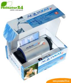 """AquaKat 2"""" von Penergetic in der Verpackung"""