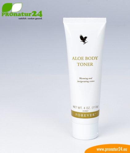 Aloe Vera Body Toner zur Kräftigung und Straffung der Haut