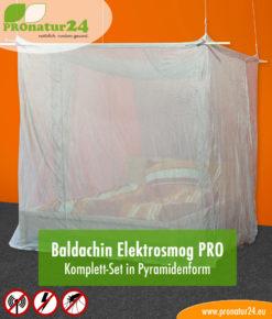 Baldachin Elektrosmog PRO, Set fürs Doppelbett