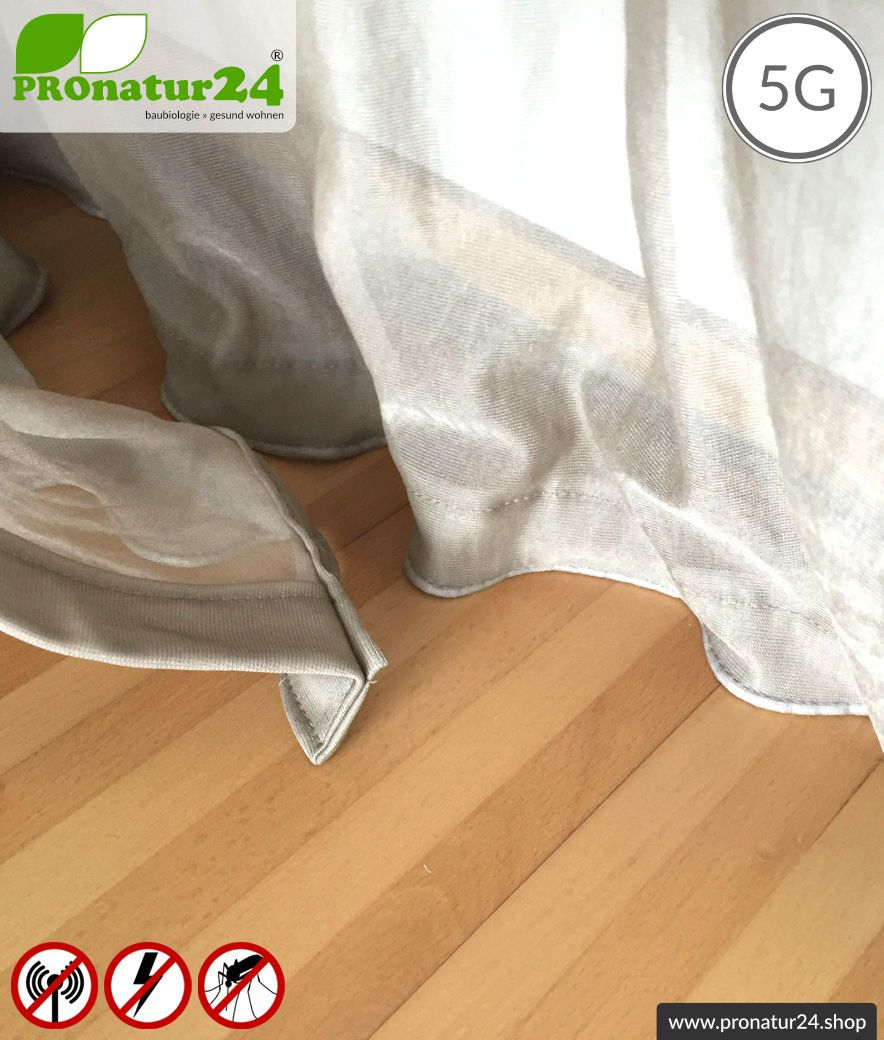 ▷🥇 Baldachin Elektrosmog PRO  Strahlenschutz bis 18 dB
