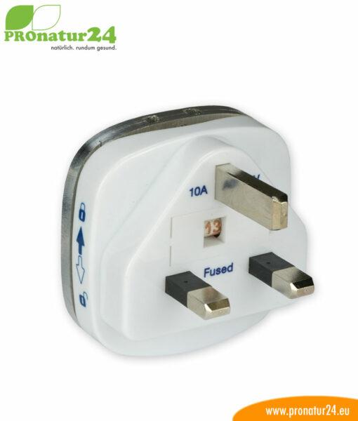Erdungsstecker Typ G, BS 1363 zur Erdung vom zB. Elektrosmog Baldachin PRO