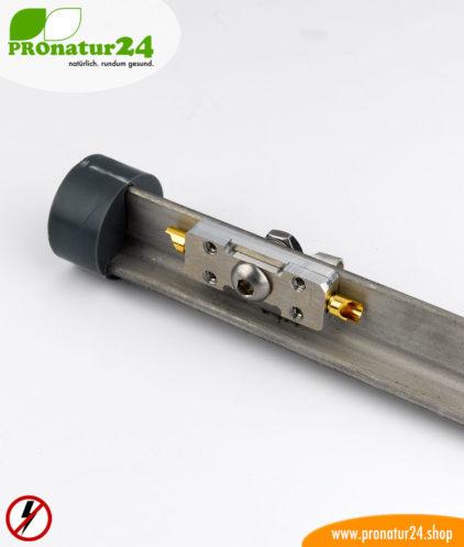 Erdungstab stationär Kopf für Montage und Anschluss vom Erdungskabel