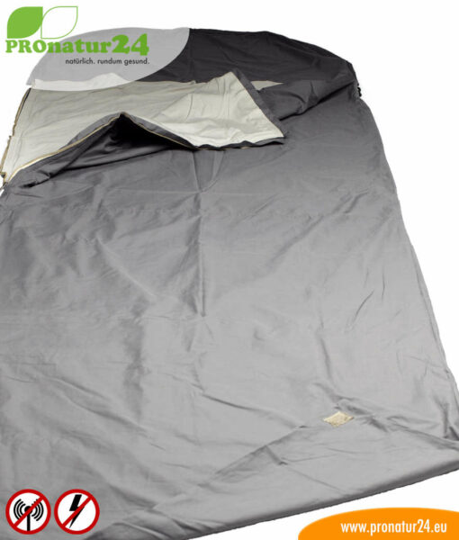 Erdungsanschluss vom Schlafsack Elektrosmog PRO