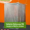 Baldachin SET Elektrosmog PRO in Grau fürs Einzelbett