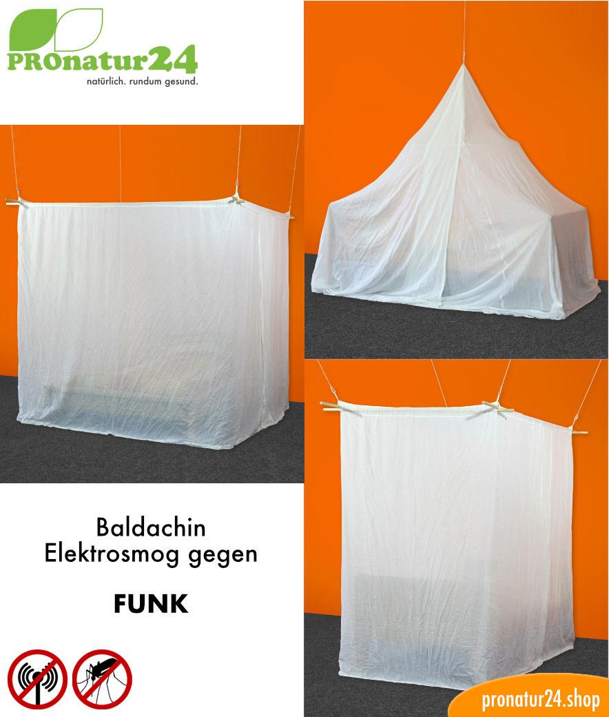 baldachin elektrosmog funk schutz vor wlan. Black Bedroom Furniture Sets. Home Design Ideas