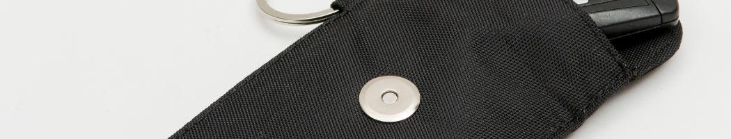 Magnetverschluss der RFID Schlüsseltasche CLASSIC