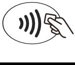 Logo für kontaktloses bezahlen mit NFC