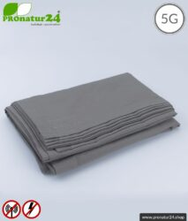Abschirmende Decke TDG mit Schutz vor HF Elektrosmog durch Funk bis zu 41 dB (WLAN, Handy). Erdbar. Wirkungsvoll gegen 5G!