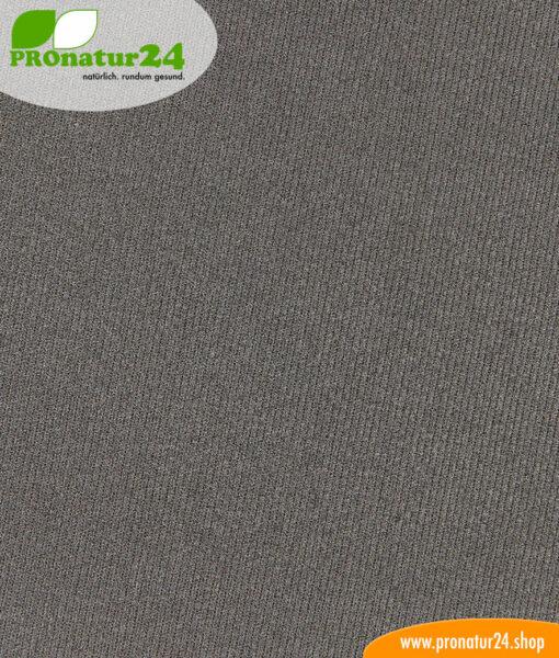 Abschirmstoff Silver Elastic für Bekleidung unterm Mikroskop