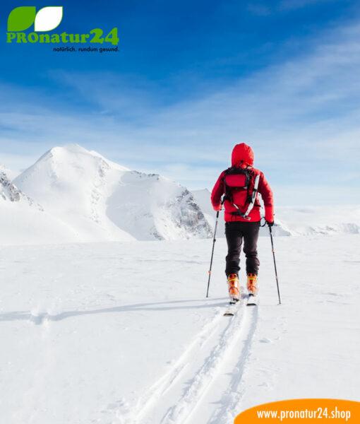 Leistungfähiger Sonnenschutz für einen ungetrübten Winter