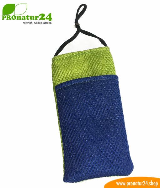 Handyhülle Handytasche mit Strahlenschutz, Sonderedition grün-blau