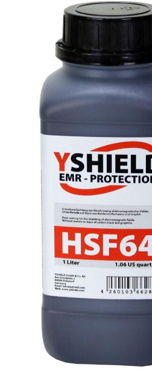 Abschirmfarbe HSF64 von YShield