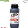 Abschirmfarbe HSF74, HF Abschirmung bis 45 dB, NF Erdung notwendig. Ohne Konservierungsstoffe von YSHIELD. 5G ready!