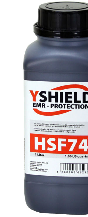 Abschirmfarbe HSF74 von YShield