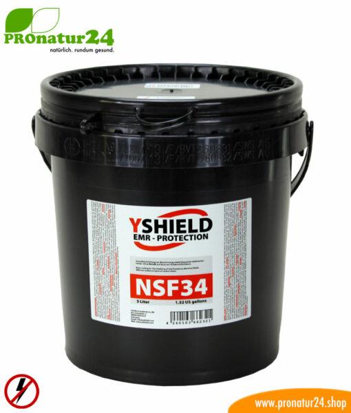 Abschirmfarbe NSF34 von YShield, 5 Liter Gebinde