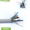 abgeschirmtes BIO Kabel (N)YM(St)-J 5x 1,50 mm²