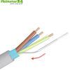 Isolierschlauch für Beidraht im geschirmten Elektrokabel