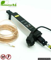 Powerline PLC Filter Set für den erdbaren Baldachin & Schlafsack. Zubehör zur Filterung von HF Frequenzen aus dem Erdungskabel.