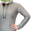 """Abschirmender Hoodie, auch ideal um diesen """"darunter"""" zu tragen."""
